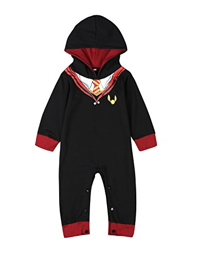 3PCS Baby Boys Girls Outfit Set Snuggle This Muggle Romper + Pants + Hat (6-12 Months)