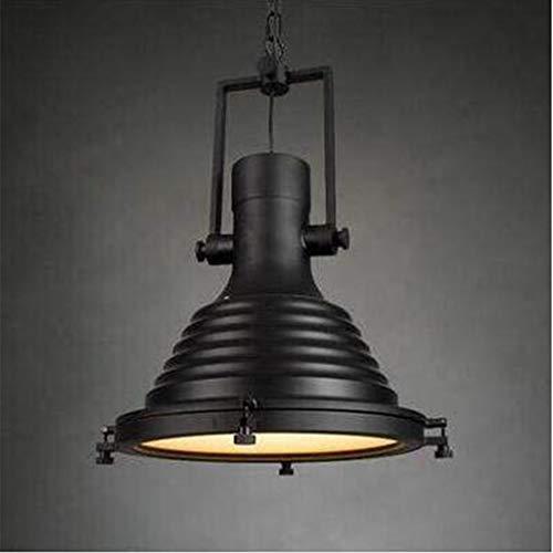 Lampade per Specchi da Bagno Coperchio Lampadario Ferro Ristorante Bar Negozio Di Abbigliamento Testa Singola, Yue QiSong, Lampadina Black-B-led
