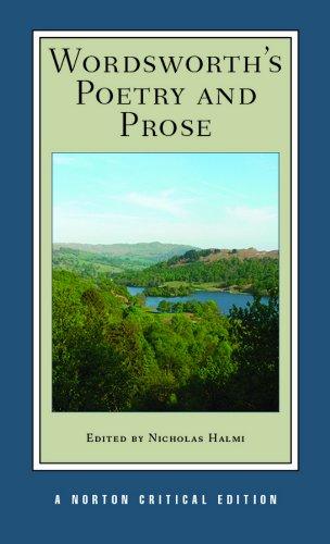 Wordsworth's Poetry and Prose (Norton Critical Editions) por William Wordsworth