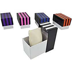 Striped Empty Gift Box Suitable For Watches Bracelets Bangles