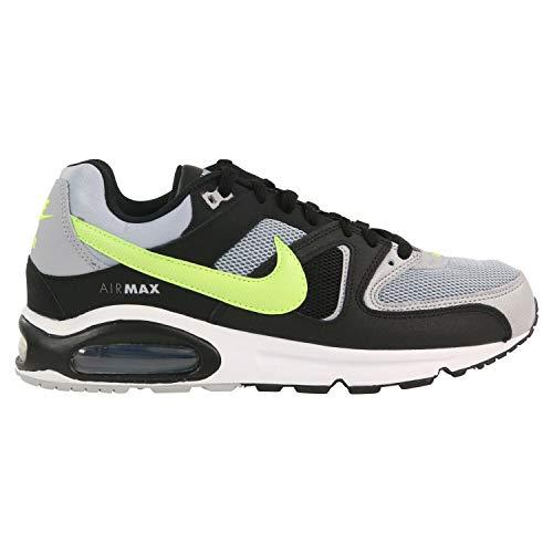 Nike Herren Air Max Command Leichtathletikschuhe, Mehrfarbig (Wolf Volt/Black/Cool Grey 47), 43 EU