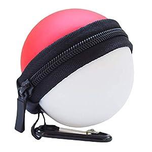 Tasche für Poke Ball Plus – Hülle Schutzhülle Tragetasche für Pokeball Plus Controller Pokemon Lets Go Pikachu Eevee Game