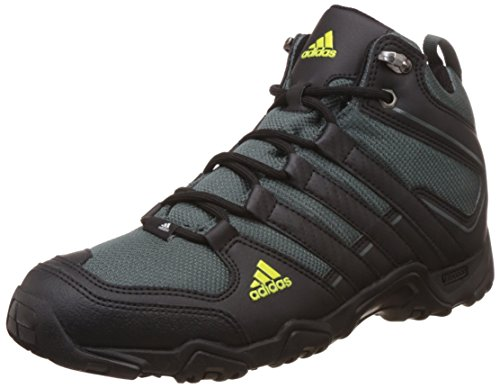 adidas Men's Aztor Hiker Mid Utiivy, Cblack and Shosli Trekking and Hiking Boots - 8 UK/India (42 EU)