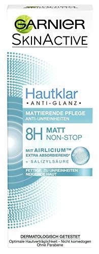 Garnier Hautklar Anti-Glanz Mattierende Pflege, absorbiert überschüssigen Talg, bekämpft...