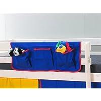 Preisvergleich für Thuka Stoff Hängetasche Organizer Aufbewahrung Kinderbett Hochbett Bett blau