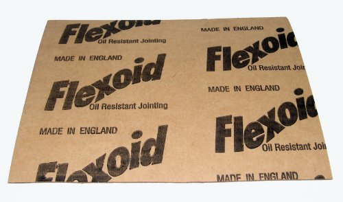 Flexoid Gasket Paper Set, 5 x A4 Sheets - Various Thicknesses 0.15mm-1.6mm Test