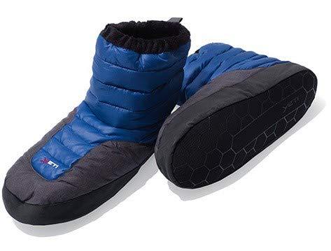 Yeti sundown down boot - mollig warme Daunenschuhe - Farbe: blau Größe: S