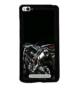 Racing Bike 2D Hard Polycarbonate Designer Back Case Cover for Xiaomi Mi 4i :: Xiaomi Redmi Mi 4i