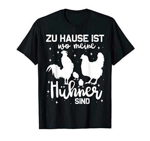 Lustiges Hühnerstall, Hühner Fan und Hühnerbauer Geschenk T-Shirt
