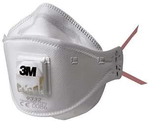 3 M 9332 + Aura FFP3 Staubmasken X 10, Asbest Masken X 10 ...