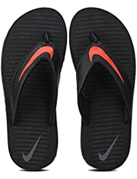 best service 9f9ef 3ffe8 Nike Men s Chroma Thong 5 Black Flip Flops