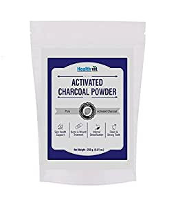 HealthVit Activated Charcoal Powder - 250 g