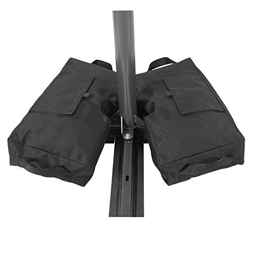 Suyi Sac pation velcro détachable pour soutien parapluie toute forme en tissu 600D Oxford