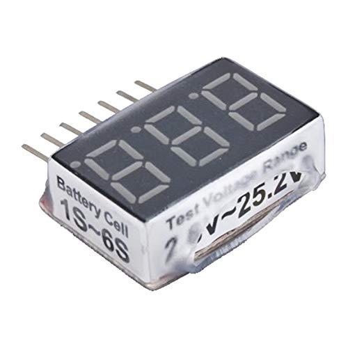 2015 heißer 1-6s RC 1S-6S LED Niederspannungs Summer Alarm Lipo Batteriespannungsanzeige Checker Tester Test 2,8 V-25,2 V fghfhfgjdfj