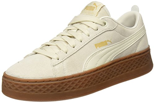Puma Damen Smash Platform SD Sneaker, Beige (Birch-birch), 38.5 EU (5.5 UK)