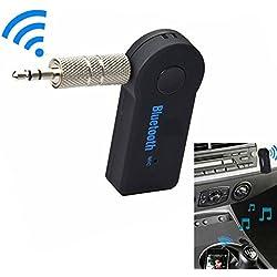 Rokoo 3.5mm 2.4GHz AUX Auto drahtloser Bluetooth Audio Stereolithographie-Empfänger-Adapter Freisprecheinrichtung