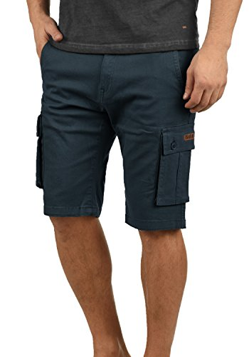 !Solid Laurus Herren Cargo Shorts Bermuda Kurze Hose Aus 100% Baumwolle Regular Fit, Größe:XXL, Farbe:Insignia Blue (1991)