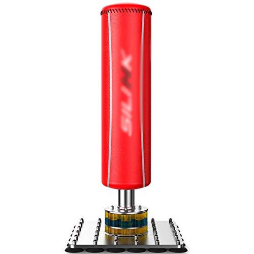 Boxen Boxsack Stand Boxsack Home Vertical Boxsack Büro Dekompression Magie (Color : Red, Size : 55 * 55 * 180cm)
