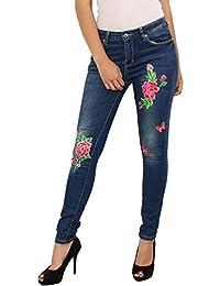 SS7 NEUF femmes mi Taille Haute Skinny Jeans, bleu indigo, Tailles 6 pour 14 5687d5fff4fe