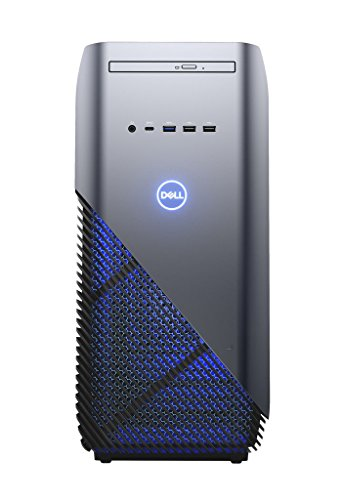 Dell Inspiron DT 5680  Desktop (Intel Core i7 8700, 1TB HDD + 128GB SSD, NVIDIA GeForce GTX 1060 with 3GB GDDR5, DVD RW, Win 10 Home 64bit German) aufdeckung blau