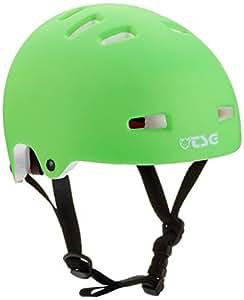 TSG Kinder Helm Nipper Mini Solid Colors, Flat-Lime-Green, XXS/XS, 750039
