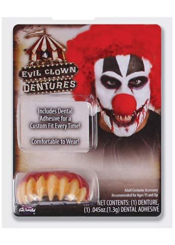 Unbekannt Scary It Clown Pennywise Stil Wies Zähne mit ()