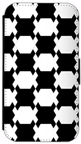 Kuna Flip Cover für Apple iPhone 5 / 5s Design K366 Klavier Noten Schwarz Hülle aus Kunst-Leder Handy Tasche Etui mit Kreditkartenfächern Schutzhülle Case Wallet Buchflip Rückseite Schwarz Vorderseite K343