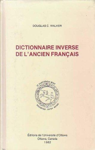 Dictionnaire inversé de l'ancien français