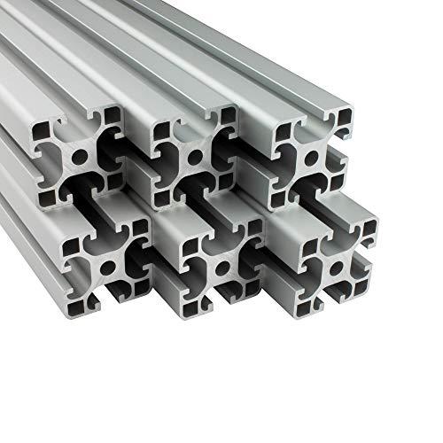 100 pcs T Muttern M5 T Nutmuttern Hammerkopf Befestigungsmutter Sortiment Kit f/ür Aluminiumprofil mit 20 St/ücke Eckwinkel f/ür 2020 Aluminium Extrusion