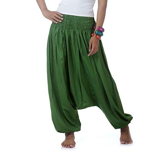 Hippie Hose Haremshose Aladinhose Pumphose für Damen & Herren 36 38 40 42 (Kostüm D'aladin)
