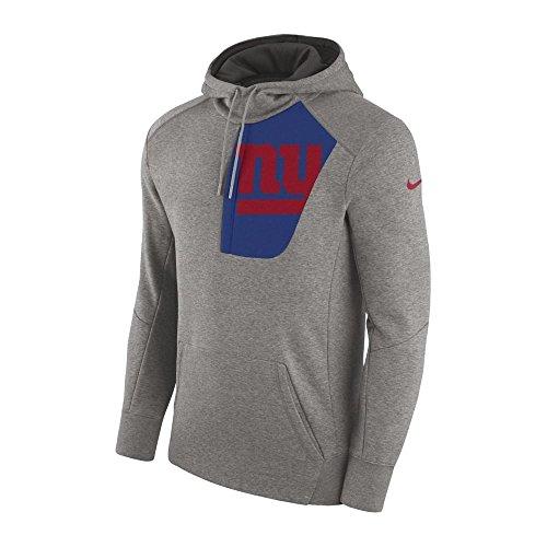 Nike NFL New York Giants Fly Fleece CD PO Hoodie Small Fleece-screen Print Pullover