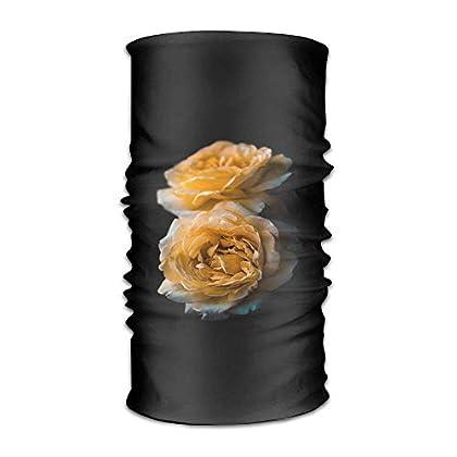 FAFANIQ Yellow Rose Headwear For Men And Women-...