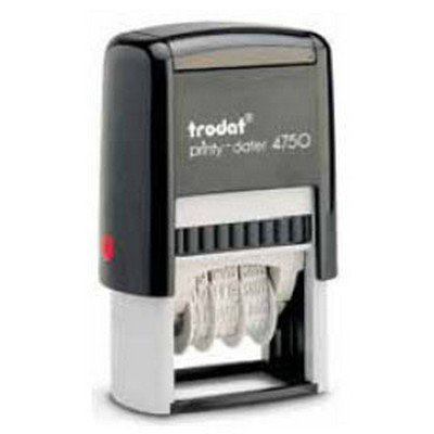 Trodat TR4720 Printy 4750 Datario Autoinchiostrante con Testo Commerciale