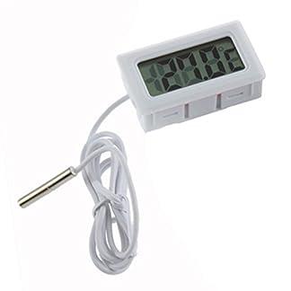 Gemini_mall® New Fish Tank Water Aquarium LCD Digital Thermometer (White) 14