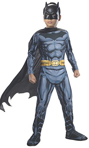 Rubie's 3881297 - Batman DC Comics Classic Child, M (Batman Muskel Kostüm)