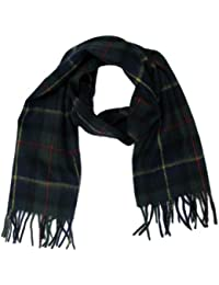 Tartanista Womens 100% Cashmere Plaid Scottish Highland Scarf - 60x12 Inches