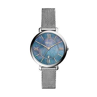 Fossil Reloj Analogico para Mujer de Cuarzo con Correa en Acero Inoxidable ES4322