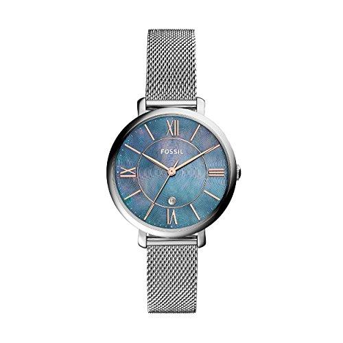 Fossil orologio analogico quarzo da donna con cinturino in acciaio inox es4322