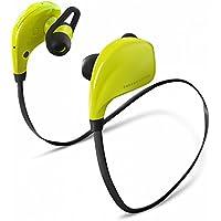 Energy Sistem BT Sport 420360 - Auriculares de contorno de cuello Bluetooth (con micrófono, deportivas) verde