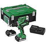 Hitachi DS18DJL - Taladro Atornillador 18 V bateria deslizante 1,5 Ah