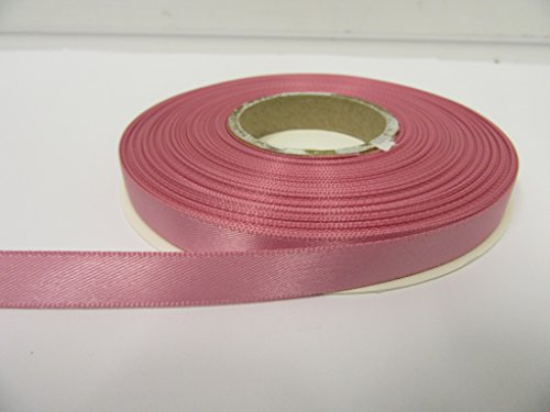 Beautiful Ribbon 2 mètres x Ruban de 10mm de Satin Rose Sauvage Rose Double Face 10 mm