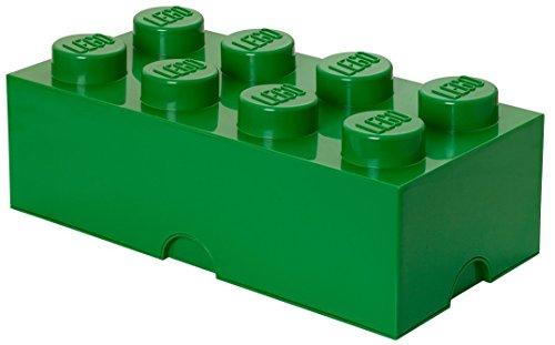 Lego Storage Brick 8grande verde scuro