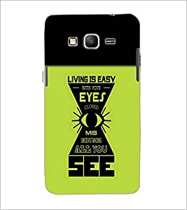 PrintDhaba Quote D-4212 Back Case Cover for SAMSUNG GALAXY GRAND PRIME (Multi-Coloured)