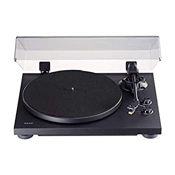 TEAC TN-280BT 2-speed Analog Turntable with Phono EQ and Bluetooth (Black)
