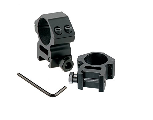 GS33 SYSTEM Picatinny / Weaver Medie Profilo 2-piece Gli anelli da 1 pollice - Media Scope