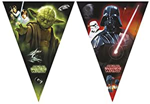 2.3m Heroes and Villains Star Wars Bunting Banner