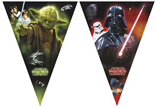 Star Wars 2,3m Heroes und Villains Wimpelkette Banner