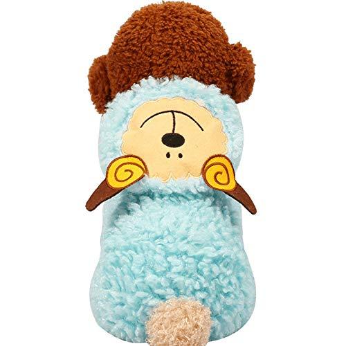 idung Pet Herbst Und Winter Modelle Verdickung Kleidung Teddybär Korallen Fleece Lamm Verwandeln Hund Kleidung ()