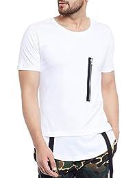 FUGAZEE Strapped Layered T-Shirt