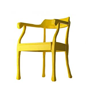 Raw Lounge Chair Fauteuil, jaune, Standard